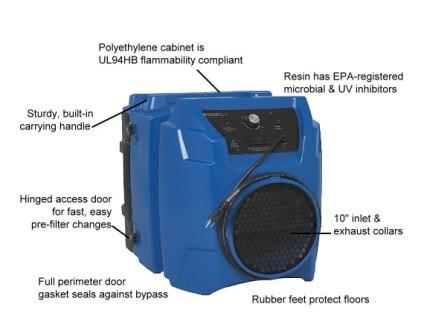 PREDATOR® 600 Portable Air Scrubber